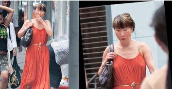 女犯不给穿胸罩-...近照曝光 不穿内衣边行边吸烟