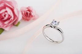 钻石小鸟钻戒 点亮你的爱