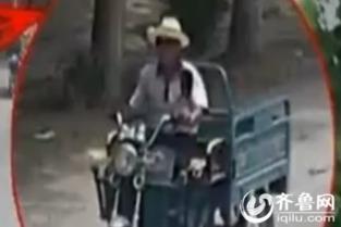 ...0万捉拿凶手(视频截图)-济宁两小学女生失踪续 嫌犯照片曝光 警方...