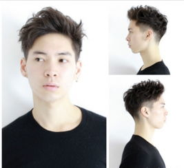 头发两边剃掉的发型,铲两边留中间发型,铲两边短发型男 七丽女性网