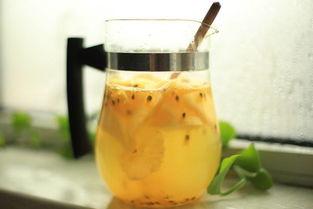 百香果蜂蜜茶的做法与功效
