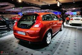 法兰克福车展实拍 小改款C30-新款沃尔沃C30将于11月亮相国内