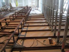 部区域加装普通槽钢14a做底,集... 最少也要增加100KG的重量,因此...