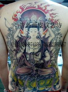 纹身_纹身供货商_供应包小臂佛头纹身图案半甲全甲 (594x800)-美...