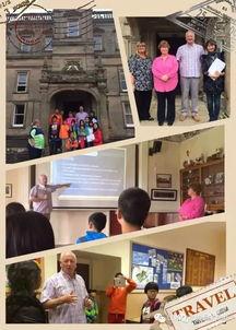 我们首先参观了Lime House School——历史悠久的私立学校,然后到...