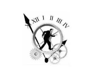表时,可以知道现在是几点钟,... 反而会使看表的人失去对准确时间...