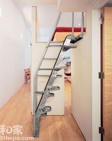10款节省空间的创意楼梯设计