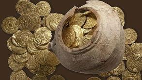 以色列古罗马要塞发现十字军金币宝藏