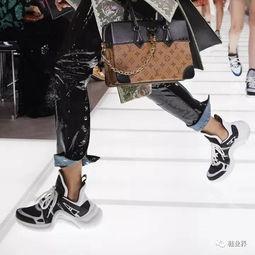 LV推出2018春夏全新鞋款
