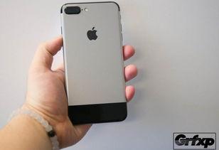 这就是情怀 iPhone 7P 秒变初代 iPhone