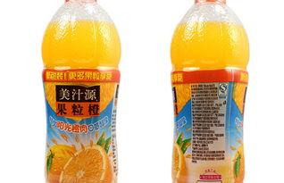 琥源-美汁源果粒橙 450ml 瓶