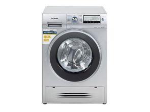 西门子洗衣机不通电, 门打不开解决方法。
