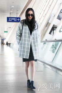 青岛美女街拍外套上阵 抗寒还时髦