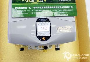 js6899-AO史密斯JSG38-A燃气热水器采用了LED显示屏作为主要操作方式,...