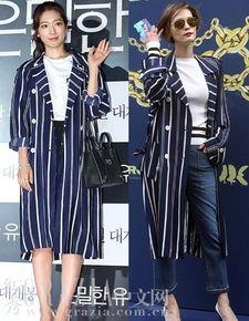 ...映会,撞衫韩国超模李英.朴信惠搭配了白色上衣和黑色短裙,整身...