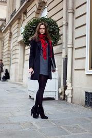 欧美街拍 满眼都是黑丝袜