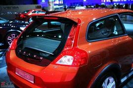 法兰克福车展实拍 小改款C30-吸收S60概念车元素 沃尔沃改款C30亮相