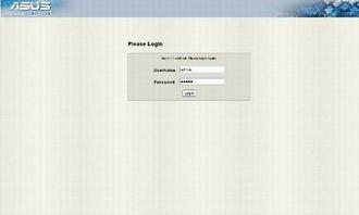 ASMB4远程登录界面-华硕服务器主板P7F E评测之远程管理应用详解