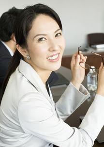 自信笑容的白领美女图片素材 图片ID 77792 商务人士 人物图片