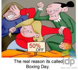 Boxing Day 不仅仅是打折