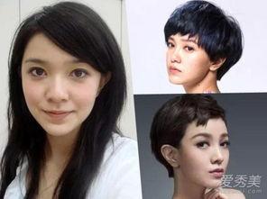 当年的郭采洁在台湾只是个小歌手,后来出演了小时代.发型也是渐渐...
