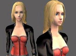 模拟人生3MOD生与死美女天娜人物模型补丁