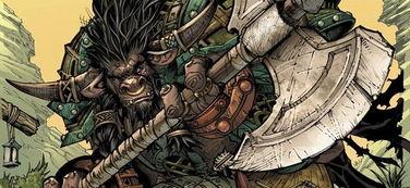 ...魔兽官方漫画 血誓 即将出版
