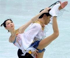 张丹 张昊双人滑破世界纪录