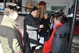 北京大学校领导走访学生宿舍