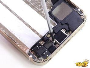 ...phone5S拆机评测 iPhone5S拆机图解教程 2