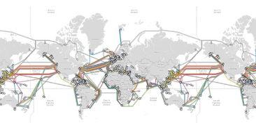 南非五大海底电缆分布版图发布