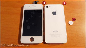 ...ne4Now.com网站销售iPhone 4白色外壳套装-17岁男孩销售iPhone...