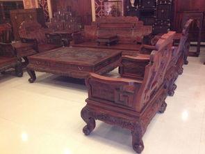 老挝大红酸枝沙发,交趾黄檀沙发,老红木沙发,大红酸枝沙发产品...