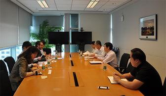 国际金融理财标准委员会首席执行官Noel Maye先生拜访银行机构