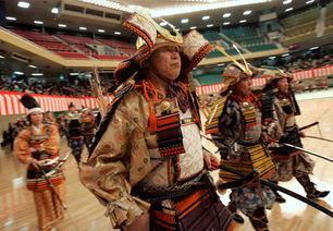 日本武士 表演武术