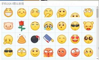 手机QQ6.0默认表情-表情 qq表情包 小高教学网 最优秀的QQ技术网 学...