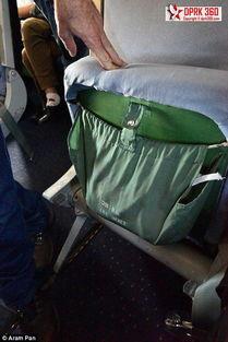 摄影师探秘朝鲜高丽航空 机舱内景曝光空姐天然零整容 组图