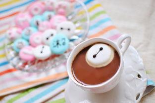 咖啡里的大白棉花糖 咖啡里的大白棉花糖壁纸 咖啡里的大白棉花糖壁...