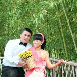 婚纱照 如花 绽放