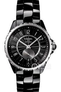 最大表径香奈儿价格20,000 50,000陶瓷表壳黑色表盘机械手表价格 大...