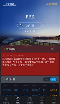 飞常准航班信息截图-今夜有短时雷雨 首都机场航班将调整 通行能力下...