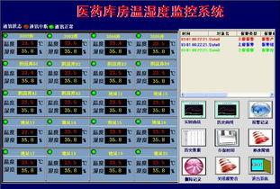 医药库房温湿度监控系统