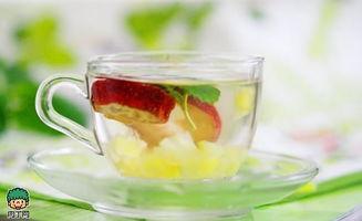 ...果茶 菠萝果汁薄荷水果茶的做法