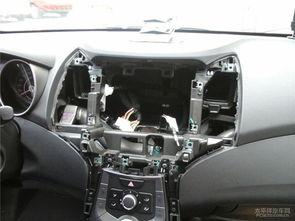 平度现代朗动改装汽车导航