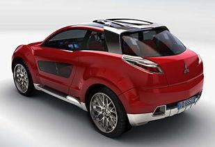 乔治亚罗为三菱设计的Nessie SUV概念车