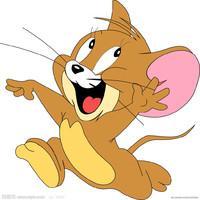 怎么画猫和老鼠中的搞笑的TOM猫卡通简笔画