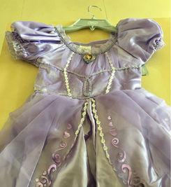 为了女儿的公主梦,败了小公主苏菲亚服饰套装,春节让你美哭