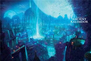 暗夜精灵都城辛艾萨莉-魔兽历史资料整理 精灵的历史与城市梳理与归纳
