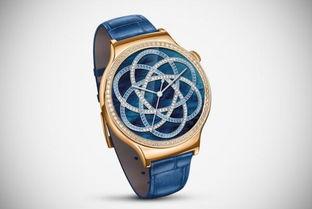 华为进入时尚界,做了款很土豪的智能手表华为mer智能手表 华为...