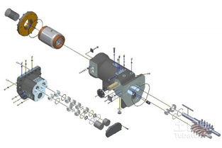 螺杆式冷水机主要工作原理。